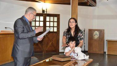 La Doctora Aguilar asumió como Secretaria de la Defensoría DJS