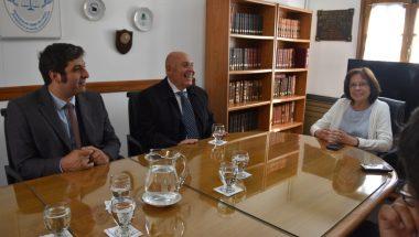 Encuentro con el rector de la Universidad Nacional de Tierra del Fuego