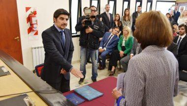 El Doctor Vilella juró como juez de la Cámara de Apelaciones de Río Grande