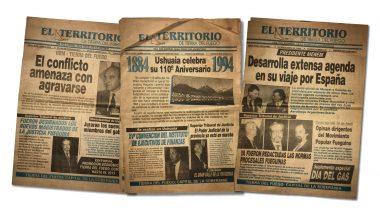 """Los comienzos del Poder Judicial retratados por el diario """"El Territorio"""""""
