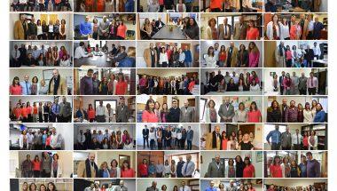 Jueces del STJ visitaron unidades funcionales en ambos distritos