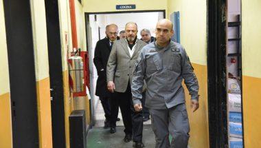El Doctor Sagastume recorrió la Unidad Penitenciaria Nº 1 de Río Grande
