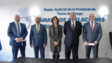 Juraron dos nuevos jueces en Ushuaia