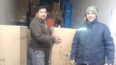 El Poder Judicial donó 180 cajas de papel reciclado para la Fundación Garrahan