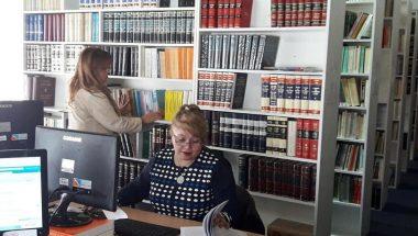 Destacan la labor de la Biblioteca del Poder Judicial de Tierra del Fuego