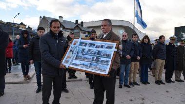 Homenaje a los caídos en el hundimiento del Crucero Belgrano