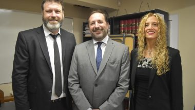 Asumió el Secretario del Juzgado en lo Civil y Comercial Nº 2 de Ushuaia