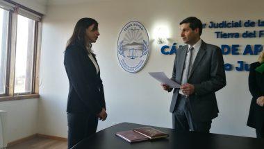 Juró la nueva prosecretaria penal de la Cámara de Apelaciones de Ushuaia