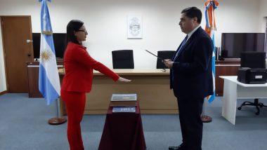 Juró la Secretaria del Juzgado de Instrucción Nº 2 de Río Grande