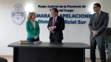 La Doctora Racca asumió como Secretaria del Juzgado de Trabajo Nº 1 de Ushuaia