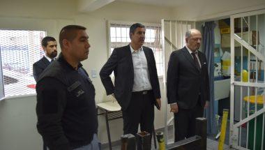 El Juez Sagastume recorrió dependencias del Servicio Penitenciario en Ushuaia