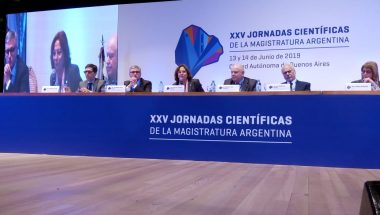 Battaini disertó en las XXV Jornadas Científicas de la Magistratura Argentina