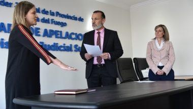 Toman juramento a la Nueva Prosecretaria del Juzgado del Trabajo Nº1 de Ushuaia