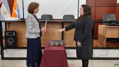 Toman juramento a la nueva Juez de Ejecución de Río Grande