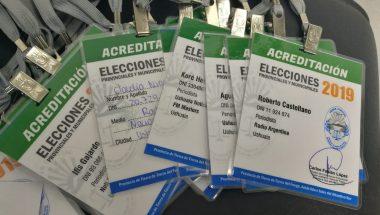 Elecciones 2019: Información para medios de comunicación