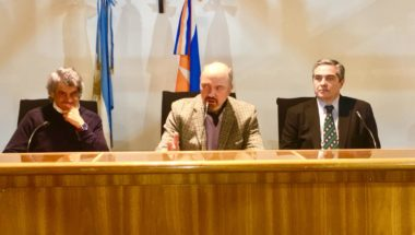 Ante un colmado auditorio cerró la Maestría en Magistratura en Ushuaia