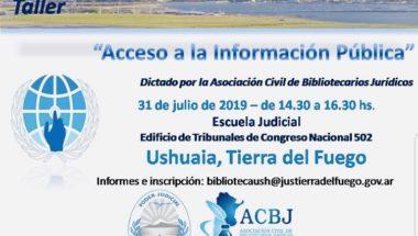 Dictan taller sobre Acceso a la Información Pública