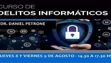 Se llevará a cabo un curso sobre Delitos Informáticos