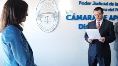 Toman juramento a la nueva Prosecretaria de la Sala Civil de la Cámara de Apelaciones de Ushuaia.