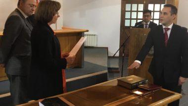 Juró el Doctor Vidal como Juez de Instrucción N° 3 de Ushuaia