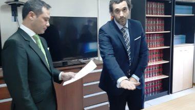 Prestó juramento el nuevo Secretario del Juzgado de Instrucción Nº 3