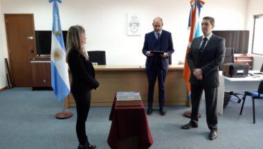 Juró la nueva prosecretaria Interina del Juzgado de Instrucción Nº 1 de Río Grande