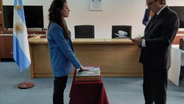 Prestó juramento la nueva Secretaria Interina del Ministerio Público Fiscal en Río Grande