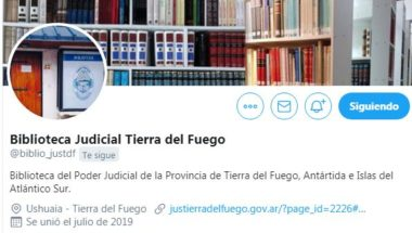 La Biblioteca del Poder Judicial ya dispone de perfiles en las Redes Sociales