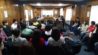El Programa Acercándonos a la Comunidad sumó a estudiantes del CENS 18