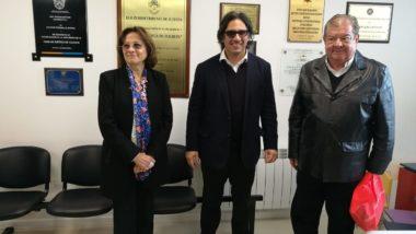 El ministro Garavano visitó la Casa de Justicia de Tolhuin y firmó convenio para conectar digitalmente a los superiores tribunales de justicia en todo el país