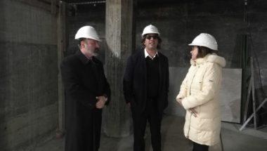 Los jueces del Superior Tribunal de Justicia recorrieron el avance de obra del nuevo edificio del STJ