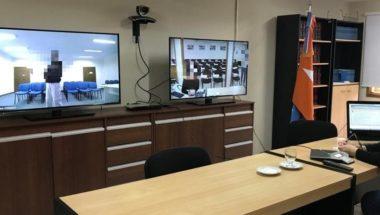 Utilizan sistema de videoconferencia para cumplir con acto procesal ahorrando recursos