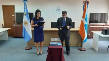 Toman juramento a los nuevos Secretarios del Juzgado de Primera de Familia y Minoridad Nº1 de Río Grande