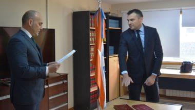 Prestó Juramento el nuevo Prosecretario del Juzgado de Primera Instancia en lo Civil y Comercial Nº1