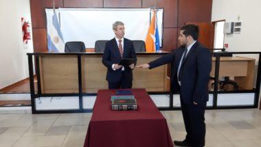 Juró el nuevo Prosecretario interino de la Sala Civil y Comercial y del Trabajo de la Cámara de Apelaciones