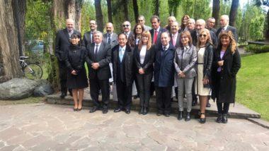 El Superior Tribunal de Justicia presente en la Comisión Directiva de JUFEJUS y del Foro Patagónico