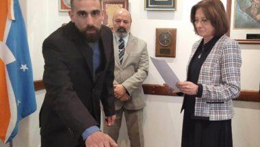 El Doctor Jorge Nicolás Ballestrero juró como Abogado Relator del Superior Tribunal de Justicia