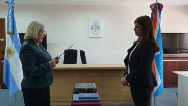 Juró la nueva Prosecretaria Interina del Juzgado de Primera Instancia del Trabajo Nº1 de Río Grande