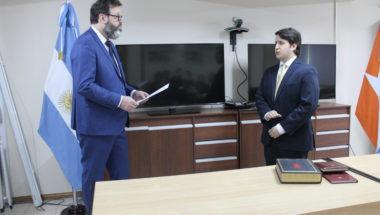 El Dr. Juan Tenaillon asumió como Prosecretario del Juzgado en lo Civil y Comercial Nº2 de Ushuaia