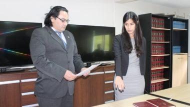 Juró la Secretaria del Juzgado de Ejecución de Ushuaia