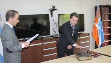 Asumió el nuevo Prosecretario de la Defensoría de Ushuaia