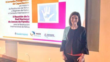 La Doctora Marina Montero participó de las ll Jornadas Patagónicas de Capacitación