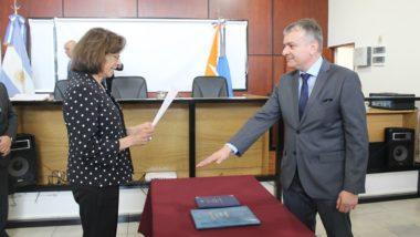 El Doctor Candela asumió como Juez de Instrucción Nº 3 de Río Grande
