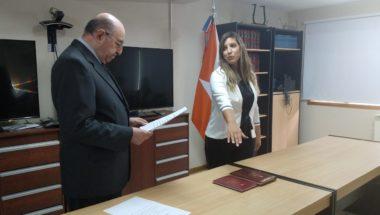 Prestó juramento la nueva Prosecretaria del Ministerio Publico Fiscal del Distrito Judicial Sur