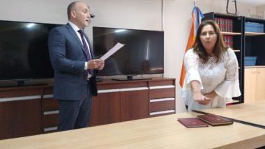 La Dra. Cobas juró como Prosecretaria de Ejecución del Juzgado Civil y Comercial Nº 1 de Ushuaia