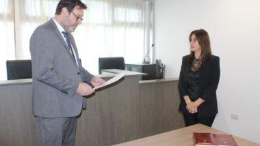 Asumió una nueva Prosecretaria en el Juzgado Civil y Comercial Nº 2 de Ushuaia