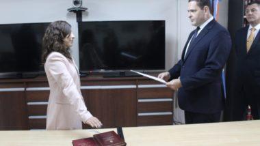 Toman juramento a la nueva Prosecretaria de la Sala Civil de la Cámara de Apelaciones de Ushuaia
