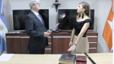 Juró la nueva Secretaria del Juzgado de Primera Instancia de Familia y Minoridad Nº2