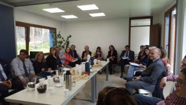 La Ley de Mediación fue tema de reunión entre magistrados y funcionarios de toda la Provincia