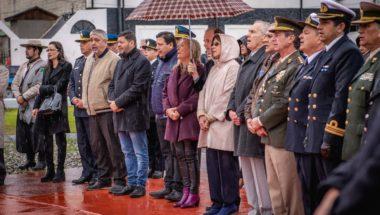 El Superior Tribunal de Justicia presente en el acto por el Natalicio del General San Martín